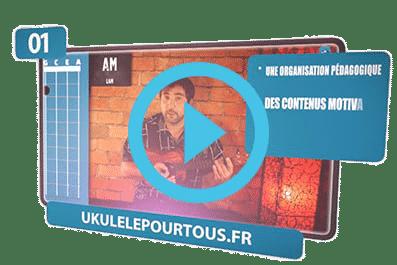 video ukulele